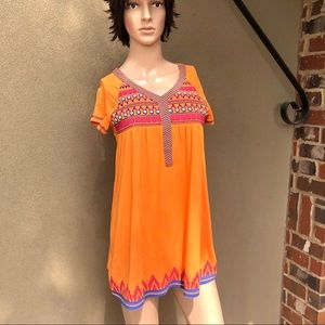 Bohemian Embroidered Indian Top Tunic